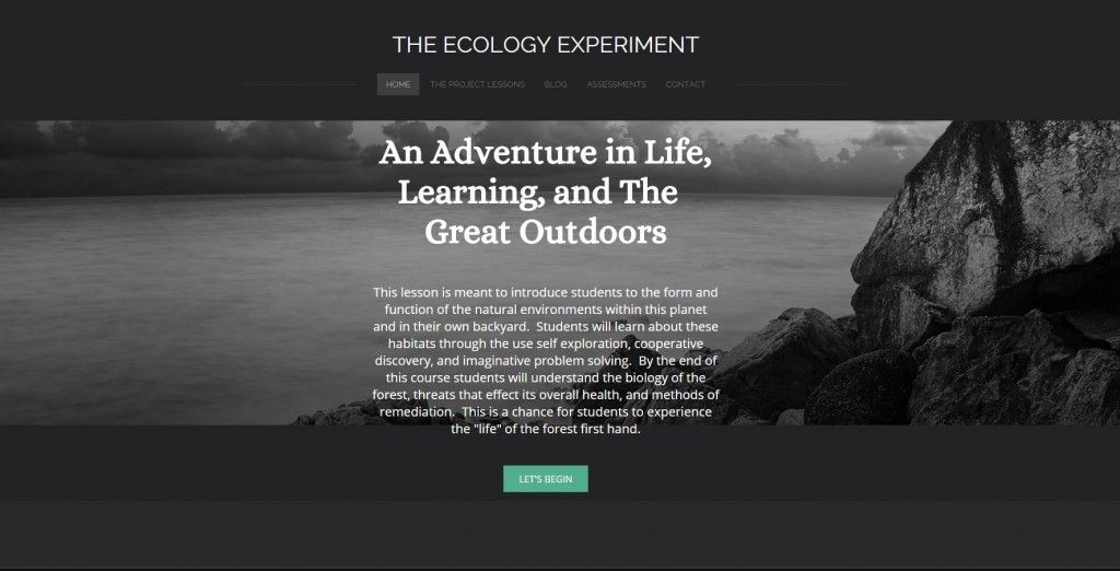 Ecology Weebly