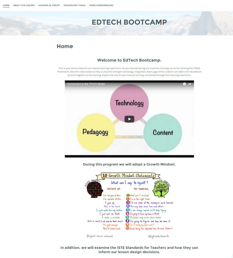 Ed Tech Bootcamp